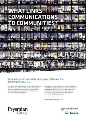 Prysmian Group Telecoms-Ad